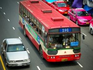 Bangkok Bus on the 191