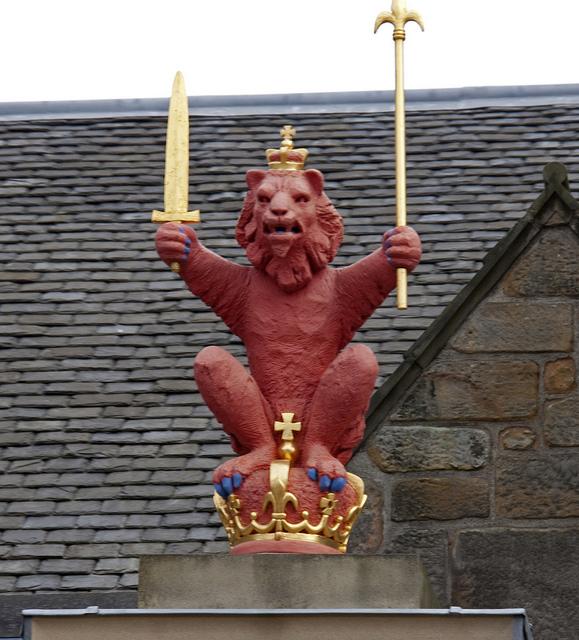 scotland lion