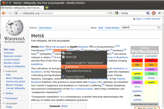 dict for firefox