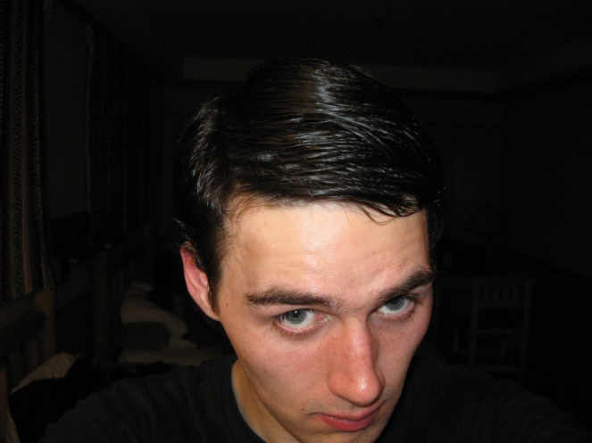 hair part