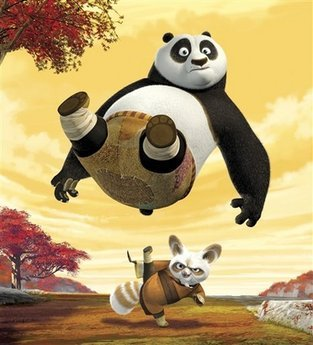 "This photo released by DreamWorks Animation SKG Inc., shows a scene from ""Kung Fu Panda."" The film was nominated for an Academy Award for best animated picture, Thursday, Jan. 22, 2009. The 81st Oscars will be presented Feb. 22 in a ceremony airing on ABC from Hollywood's Kodak Theatre. (AP Photo/DreamWorks Animation SKG Inc.) ** NO SALES **"