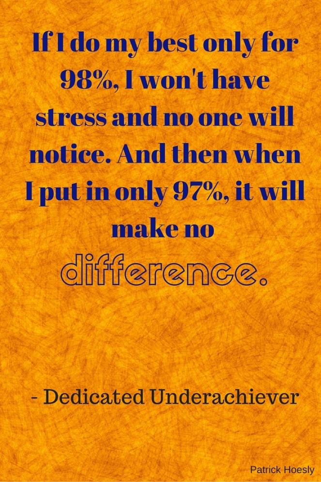 98% stress