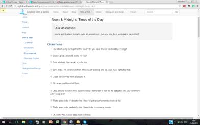 day noon quiz